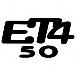 Stickers piaggo vespa et4 50