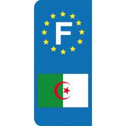 Stickers Plaque Algerie