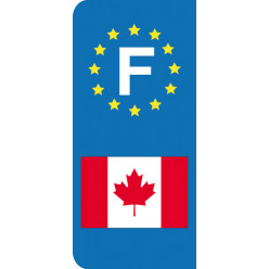 Stickers Plaque Canada