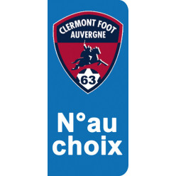 Stickers Plaque Clermont