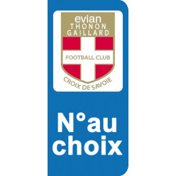 Stickers Plaque Evian Thonon