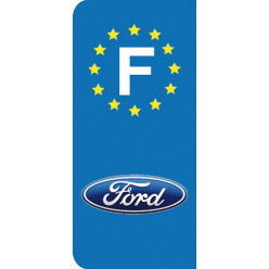Stickers Plaque Ford
