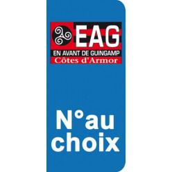 Stickers Plaque Guingamp