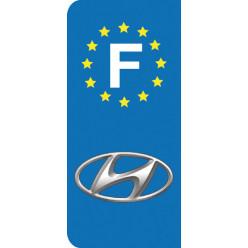 Stickers Plaque Hyundai