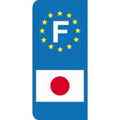 Stickers Plaque Japon