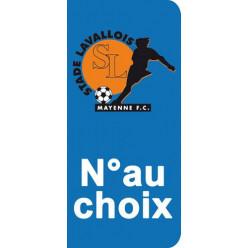 Stickers Plaque Laval