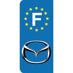 Stickers Plaque Mazda