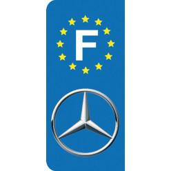 Stickers Plaque Mercedes