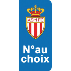 Stickers Plaque Monaco