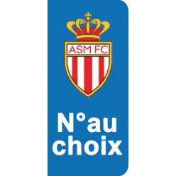 Stickers Plaque Monaco