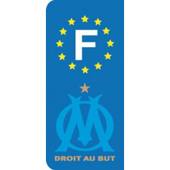 Stickers Plaque OM Marseille