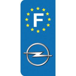 Stickers Plaque Opel
