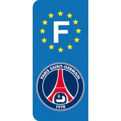 Stickers Plaque PSG Paris