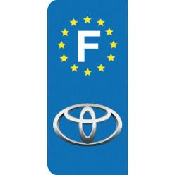 Stickers Plaque Toyota