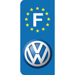 Stickers Plaque Volkswagen