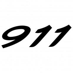 Stickers porsche 911