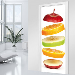 Stickers Porte - Fruits
