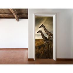 Stickers Porte Girafes