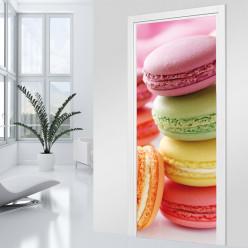 Stickers Porte - Macarons