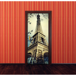 Stickers Porte Tour Eiffel