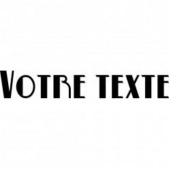 Stickers Prénom ou Texte