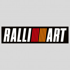 Stickers ralliart