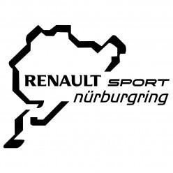 Stickers renault sport nurburgring