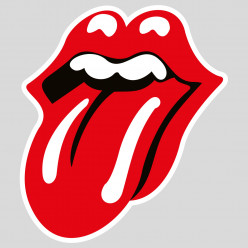 Stickers rolling stones