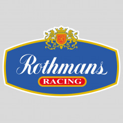 Stickers rothmans racing