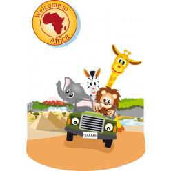 Stickers safari