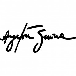 Stickers signature ayrton senna