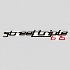Stickers street triple 675