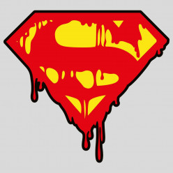 Stickers Superman s Death