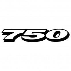 Stickers suzuki gsxr 750