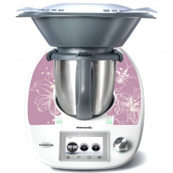 Stickers Thermomix TM 5 Flowers 2