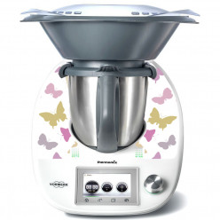 Stickers Thermomix TM 5 Papillon en folie