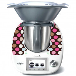 Stickers Thermomix TM 5 Ronds Multicolores
