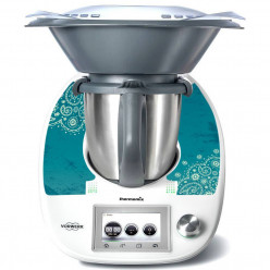 Stickers Thermomix TM 5 Turquoise