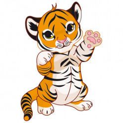 Stickers Tigre Haro
