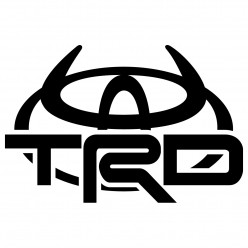 Stickers toyota TRD