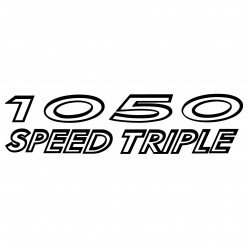 Stickers triumph 1050 speed triple
