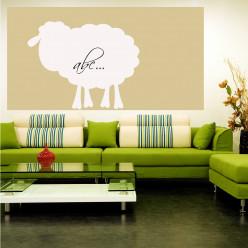 Stickers velleda mouton