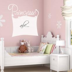 Stickers velleda princesse