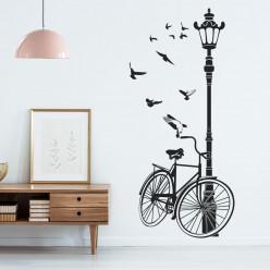Stickers vélo lampadaire