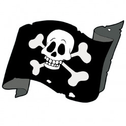 Stickers Voile Pirate
