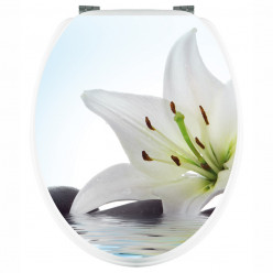 Stickers WC Fleur de Lys