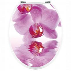 Stickers WC Orchidée