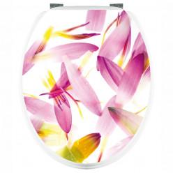 Stickers wc Pétales de Fleurs