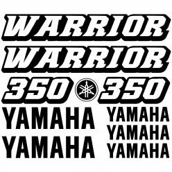 Stickers Yamaha 350 WARRIOR