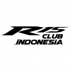 Stickers yamaha r15 club indonesia